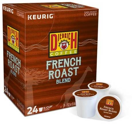 Diedrich French Roast Blend Coffee K-Cups