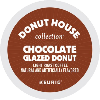 donut-house-kcup-lid-chocolate-glazed-donut