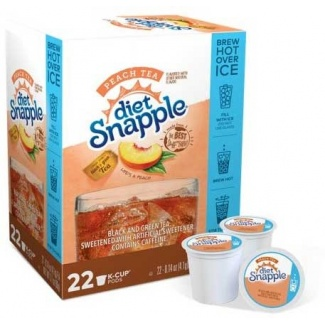 snapple-kcup-box-peach-tea-diet