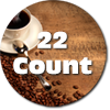 22 Pack Coffee K-Cups